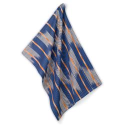 Geschirrtuch Ethno 100%Baumwolle blau 70,0x50,0cm