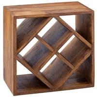 Wohnling Weinregal WL5.673, braun