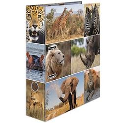 HERMA Motivordner Afrika Tiere 7,0 cm DIN A4