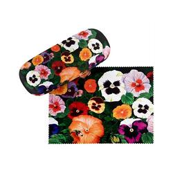 von Lilienfeld Brillenetui Brillenetui Blütenzauber Stiefmütterchen