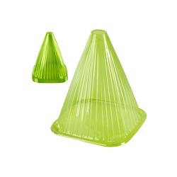 ONVAYA Pflanzenschutzdach Pflanzenhut-Set, Grün, Pflanzenschutz vor Witterung & Tieren, Pflanzglocke aus PVC, Pflanzenschutzhaube