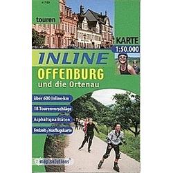 Inline Offenburg und die Ortenau 1 : 50 000 - Buch