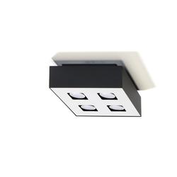 Licht-Erlebnisse Deckenleuchte HYDRA Bauhaus Deckenleuchte Schwarz Weiß Flurleuchte Decke Lampe