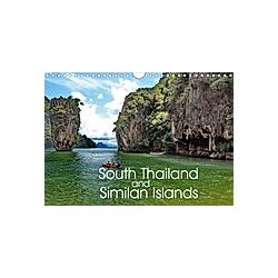 South Thailand and Similan Islands (Wall Calendar 2021 DIN A4 Landscape)