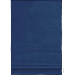 Raffrollo Raffrollo, LICHTBLICK, mit Klettschiene, Verdunkelung, im Fixmaß blau 60 cm x 180 cm