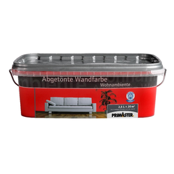 Primaster Wandfarbe Wohnambiente SF544 2,5 l, rot