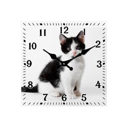 HTI-Line Tischuhr Tischuhr Katze