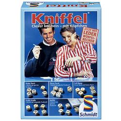Kniffel mit Lederwürfelbecher
