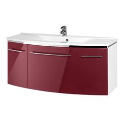 MARLIN Waschtisch 3043, Breite 122 cm rot