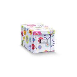 HTI-Living Aufbewahrungsbox Aufbewahrungsbox mit Deckel (1 Stück), Aufbewahrungsbox 16.5 cm x 15 cm x 28 cm