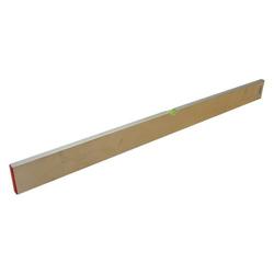 Estrich Richt- / Messlatte 100 cm,  Aluprofil 80 x 18 mm