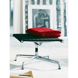Vitra Hocker Alu-Chair schwarz, Designer Charles & Ray Eames, 35.4x53.5x54.6 cm