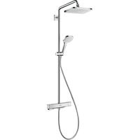 HANSGROHE Croma E Showerpipe 280 1jet EcoSmart mit Thermostat (27660000)