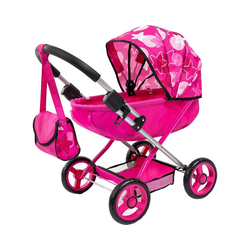 Bayer Puppenwagen Puppenwagen Cosy, pink Sterne rosa