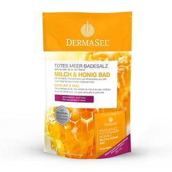 DERMASEL Totes Meer Badesalz+Milch&Honig SPA 1 P