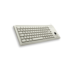 Cherry Slim Line G84-4400, US-Layout, Trackball Tastatur