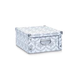 HTI-Living Aufbewahrungsbox Aufbewahrungsbox Pappe, weiß Vintage, Aufbewahrungsbox 33 cm x 17 cm