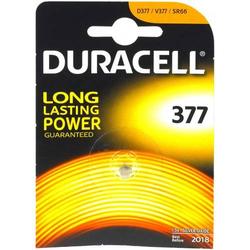 Duracell Knopfzelle SR66 / SR626SW / V377 Typ 377 1er Blister, 1,55V, Silberoxid