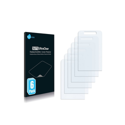 Savvies Schutzfolie für Nokia 6260 slide, (6 Stück), Folie Schutzfolie klar