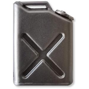 Arkai Benzinkanister Silber mit Halterung