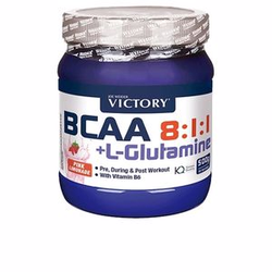 BCAA 8:1:1 + L-GLUTAMINE pre,during, post-workout naranja 50