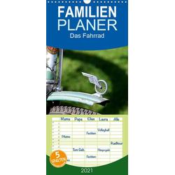 Das Fahrrad - Familienplaner hoch (Wandkalender 2021  21 cm x 45 cm hoch)