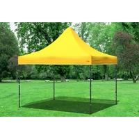 stabilezelte Faltpavillon 3 x 3 m gelb 3333370