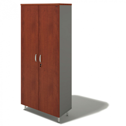 Kleiderschrank auf füßen bern plus, 900 x 430 x 2074 mm, birke