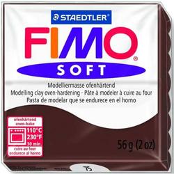 Modelliermasse Fimo soft 56g schokolade