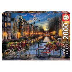 Carletto Puzzle Educa Puzzle. Amsterdam 2000 Teile, Puzzleteile