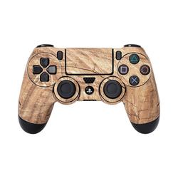 ak tronic Spielekonsolen-Zubehörset Skin für PS4 Controller Wood