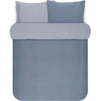 Marc O'Polo Washed Chambray blau (200x220+2x80x80cm)