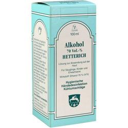 ALKOHOL 70 VOL % HETTERICH