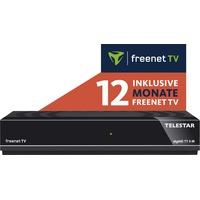 Telestar digiHD TT 5 IR DVB-T2 DVB-C Receiver mit Irdeto Entschlüsselung (inkl. 12 Monate Freenet TV, H.265/HEVC, Kabel Empfang, HDMI, (5310483-12)