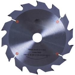 Connex Kreissägeblatt, Handkreissägeblatt, HM, mittel, Ø 127 mm grau Sägen Werkzeug Maschinen Kreissägeblatt