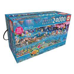 Educa Puzzle LEBEN, 24000 Puzzleteile