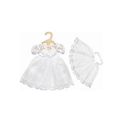 Brautkleid Sissi mit Schleier  Gr. 35-45 cm