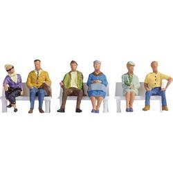 NOCH 15532 H0 Figuren Sitzende
