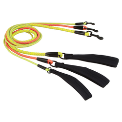 Hurtta Dazzle Mountain-Rope Leine gelb, Größe: 11 mm / 120 cm