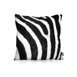 Kissenbezug, VOID, Zebrafellmuster Print Outdoor Indoor Zebra zebramuster 80 cm x 80 cm