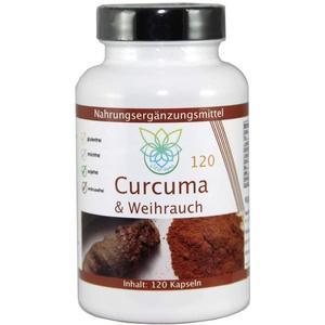 VITARAGNA Curcuma und Weihrauch 120 Kapseln Qualitätsprodukt mit Kurkuma-Extrakt und Weihrauch-Extrakt, Kurkuma Kapseln