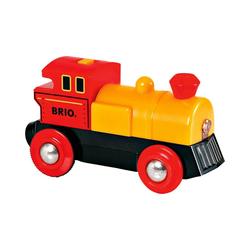 BRIO® Spielzeug-Eisenbahn Gelbe Lok (Batteriebetrieb)