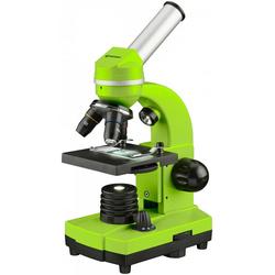 BRESSER junior Mikroskop Schülermikroskop BIOLUX SEL grün