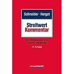 Streitwert-Kommentar - Buch