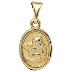 JOBO Engelanhänger Schutzengel, 333 Gold