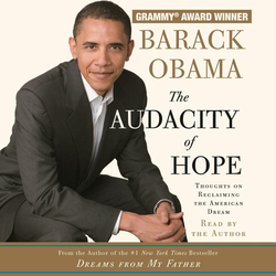 The Audacity of Hope als Hörbuch CD von Barack Obama