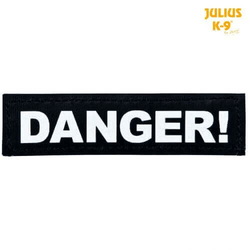 TRIXIE  Julius-K9 Klettsticker XS  DANGER!