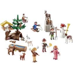 Playmobil® Heidi Adventskalender  Heidis Winterwelt  70260