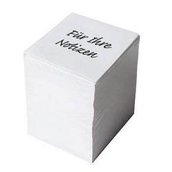 1.000 Blatt Notizzettel weiß
