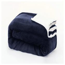 Wohndecke Maschinenwäsche, Warm halten, Bequem Langlebig, Hohe Qualität,, i@home, Bequem und langlebig blau